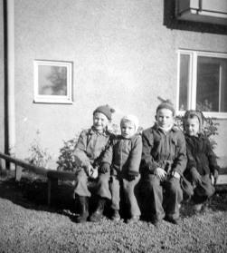 Barn på Finnberget - 50-talet