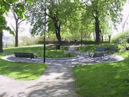 Danviksparken på Danviksklippan