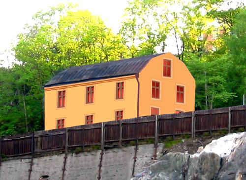 Finnboda chefsbostad - hur den skulle kunna se ut efter en renovering
