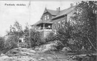 Vykort från 1903 som visar Finnboda Värdhus