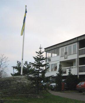 Flaggstång på Henriksborg