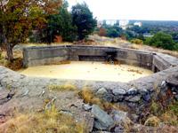 Finnberget, Nacka: Tidigare luftvärn används nu som grillplats