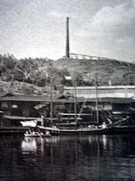 Superfosfatfabrikens skornsten på Finnberget