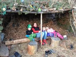 Barnens koja i Finnbergets sluttning mot Finnboda