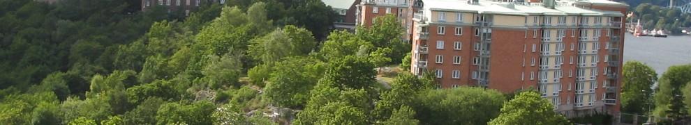 Engelska parken mellan Danvikshem och Vilans skola