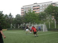 Fotbollsturnering på Henriksdalsbergets fotbollsplan 2009