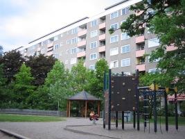 Henriksdalsberget, Nacka: Henriksdalsringens gröna innergård