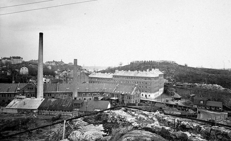 Liljeholmens stearinfabrik i Danvikstull