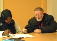 Röda Korsets studiestöd och läxläsning på Henriksdalsberget