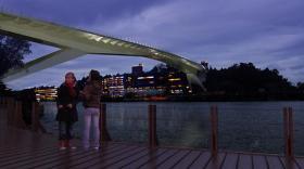 Svindersviksbron mellan Kvarnholmen och Ryssbergen (bild: JM)