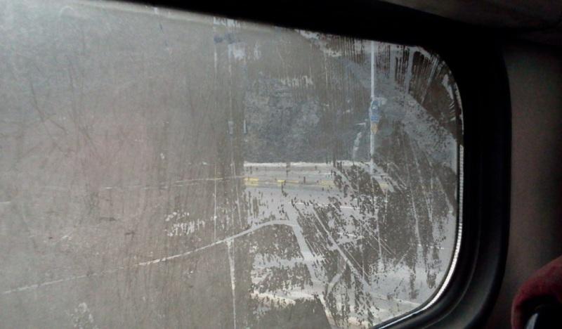 Smutsigt fönster