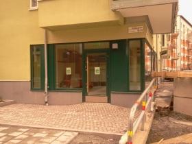Pasta och pizza restaurangen Olio Deli på Pollargatan i Henriksdalshamnen