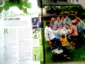 Reportage med Jonas Sanström i ICA tidningen Buffé