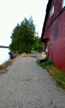 Strandpromenad nedanför Danvikshem tar form mellan Danvikstrand och Finnboda