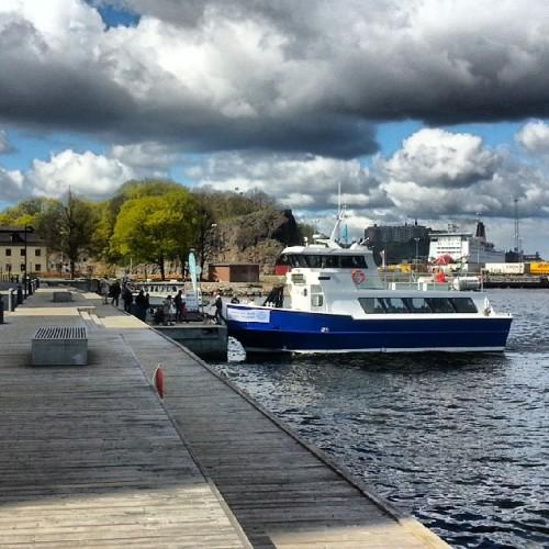 Elbåten M/S Sjövägen i Saltsjöqvarn, Nacka
