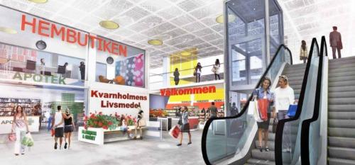 Visionen om ett närcentrum i spisbrödsfabriken på Kvarnholmen i Nacka