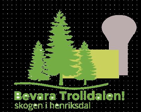 Bevara Trolldalen! - skogen i Henriksdal, Nacka