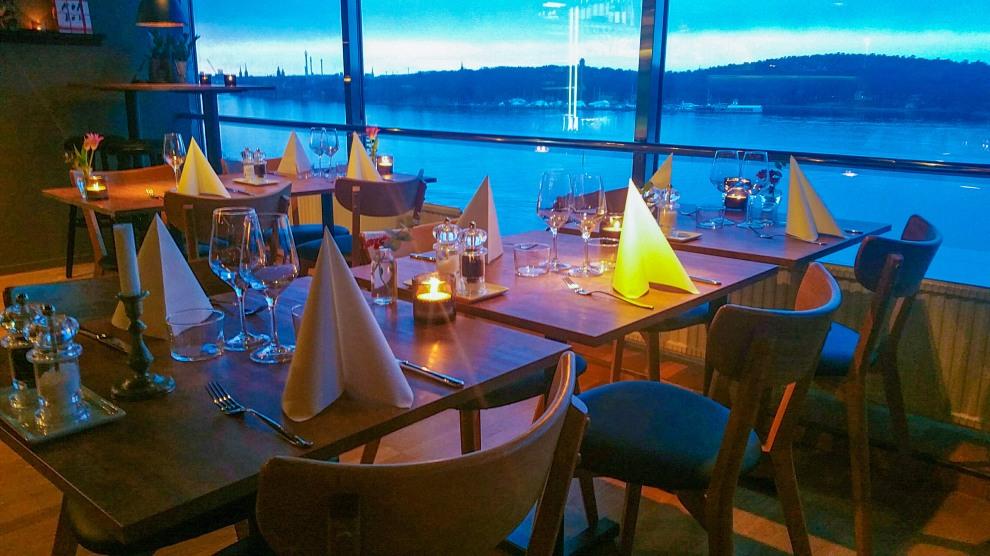 Restaurangen Mat&Vy på Kvarnholmen i Nacka