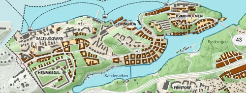 Nacka kommuns översiktsplan för Västra Sicklaön