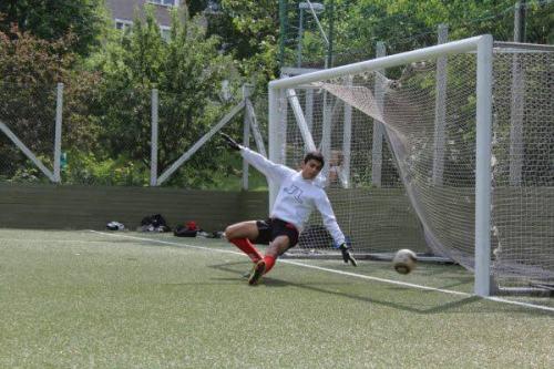 Fotboll på Henriksdalsberget
