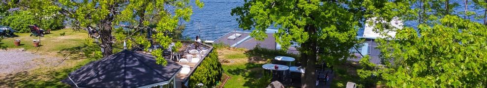 Seniorernas rekreationsområde Vidablick på Norra platån bakom Danvikshem