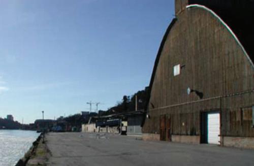 Sillmagasinet på Kvarnholmen