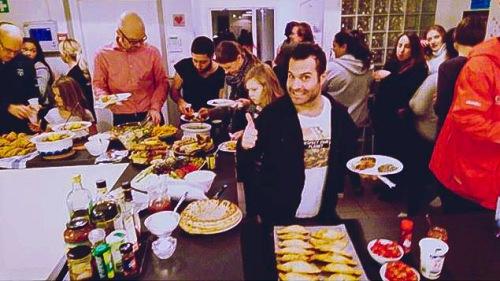 Matfest på fritidsgården Glada Henkan