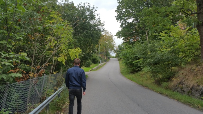 Branta vägen från buss 53 till seniorboendet