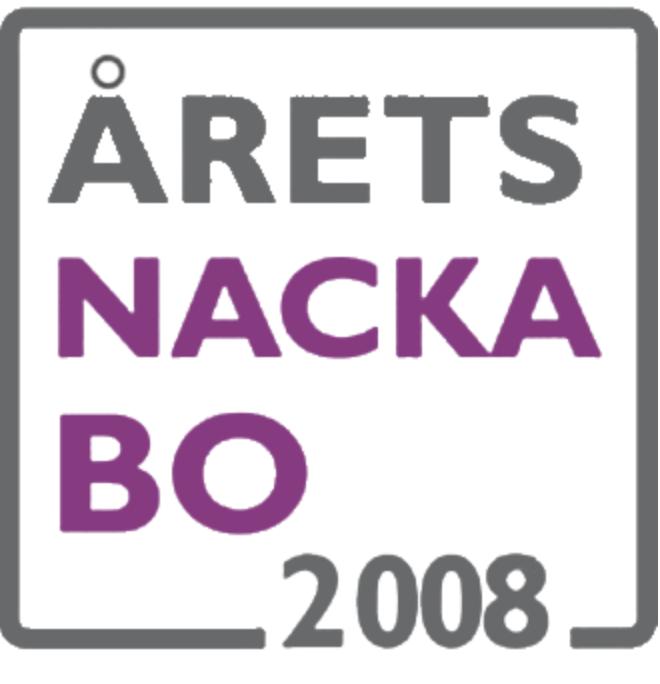 Utmärkelsen Årets Nackabo 2008
