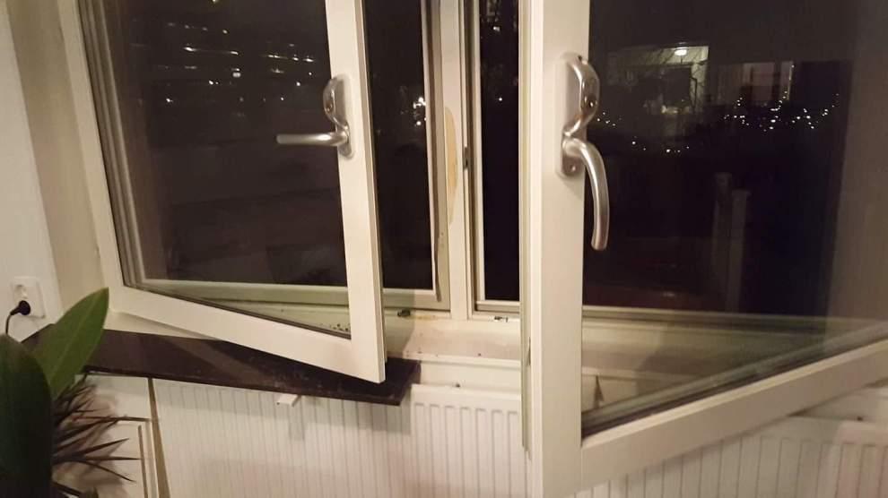 Öppet fönster i Finnboda