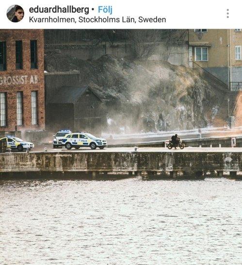 Inspelning av nya Millenium-filmen i Finnboda