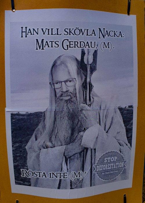 Mats Gerdau som Saruman