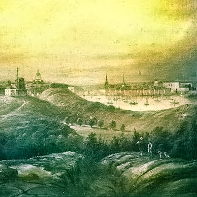Danviken på 1880-talet