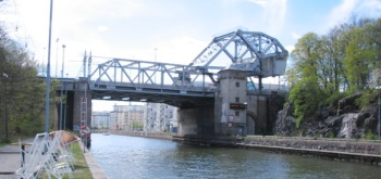 Danviksbron mellan Nacka och Södermalm
