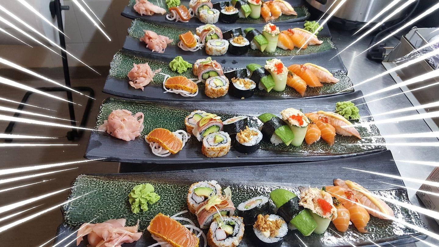 Koi sushi i Saltsjöqvarn