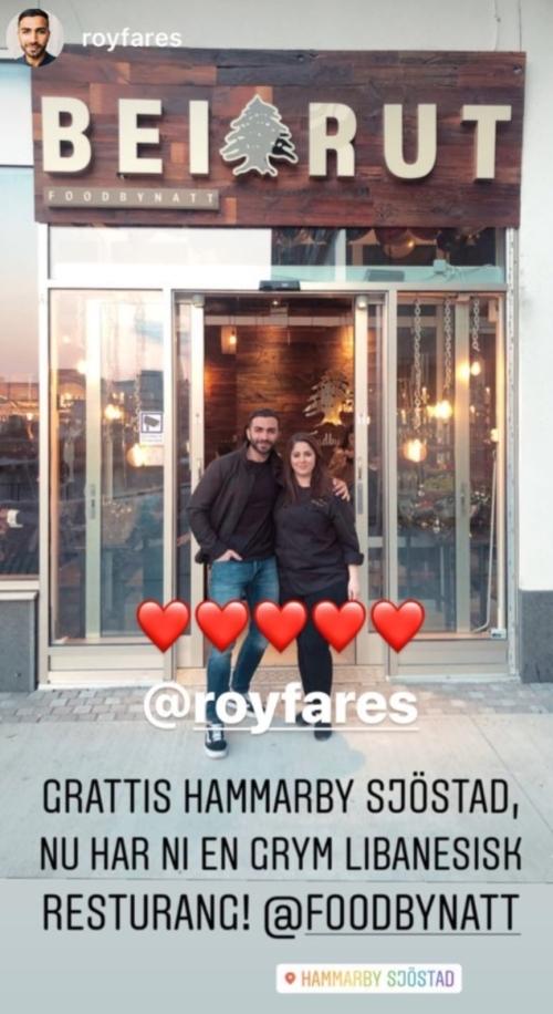 Roy Fares på Beirut Food by Natt