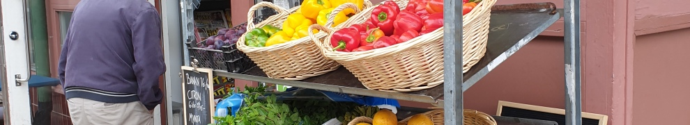Frukt och grönsaker på Henkans livs