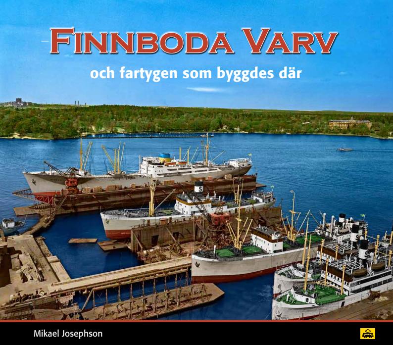 Boken Finnboda varv av Mikael Josephson